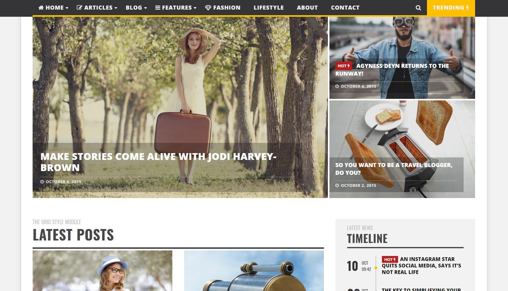 Infra Simple Clean et Minimaliste Wp Magazine – Meilleur pour un site Sport