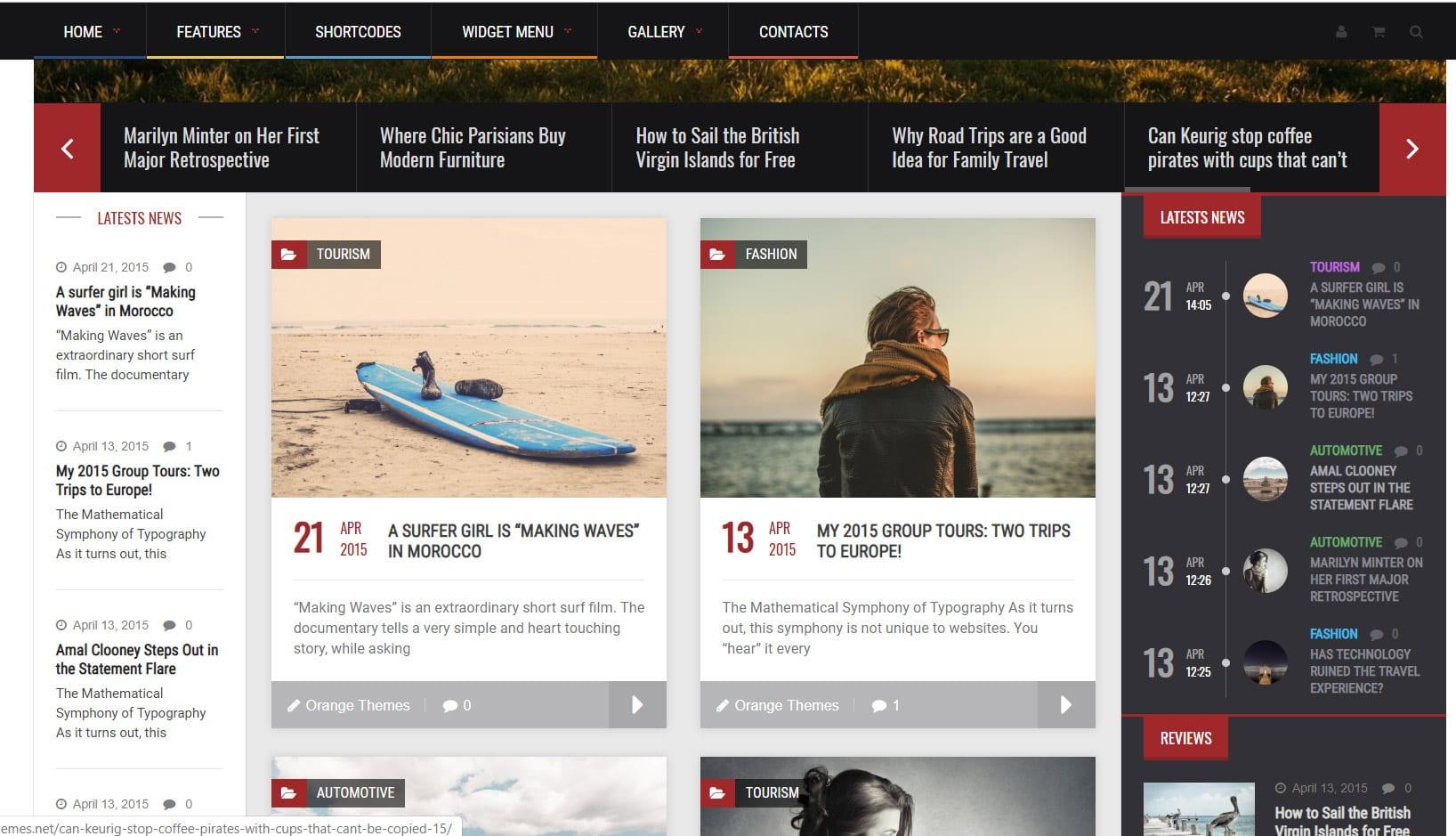 Solidus l'un des meilleurs themes magazine WordPress