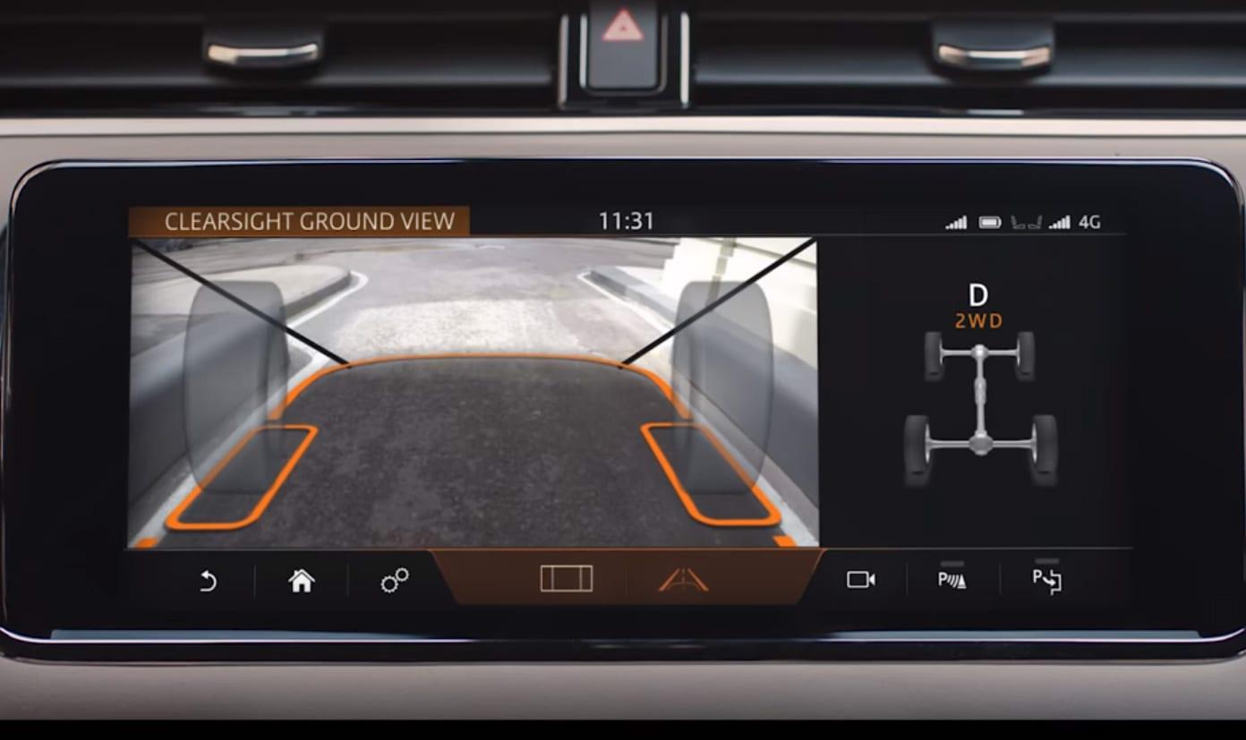 Système de stationnement Range Rover Evoque 2019