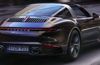 Arrière nouvelle Porsche 911 Targa