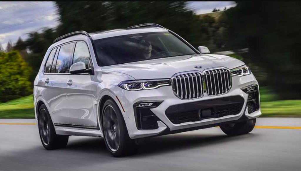BMW X7 7places