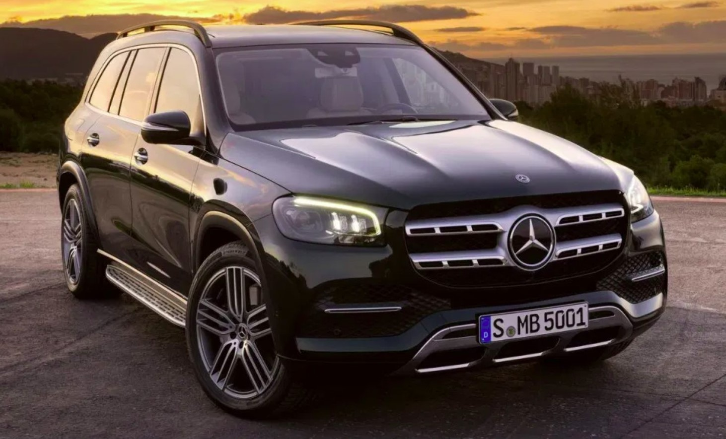 Mercedes GLS 7 Places