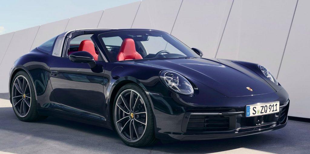 Nouvelle Porsche 911 Targa