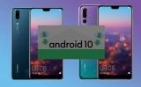 Emui 10 / Android 10 mise à jour pour P20 et P20 Pro (CLT-L29)