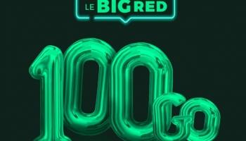 Big Red by SFR, le forfait mobile 100 Go à 12 euros est de retour