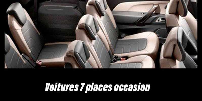Les meilleures voitures 7 places d'occasion pas chère